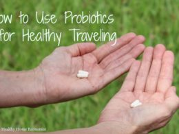 Using Probiotics for Healthy Traveling