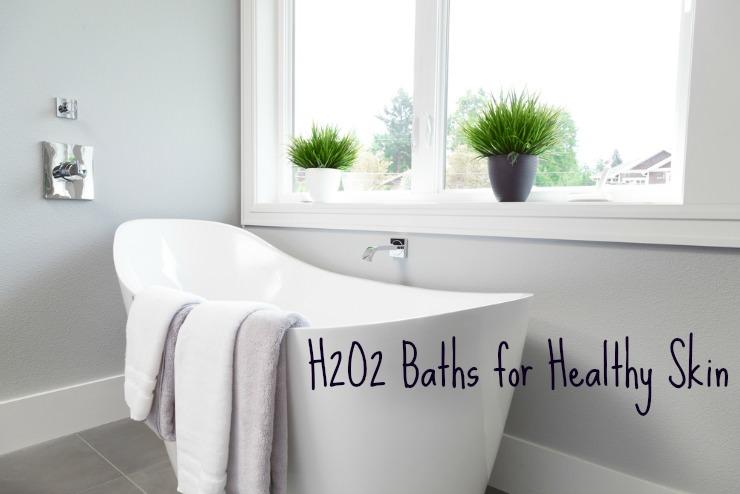 hydrogen peroxide bath