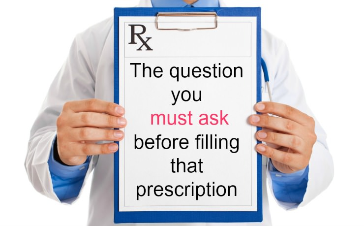 prescription question to ask