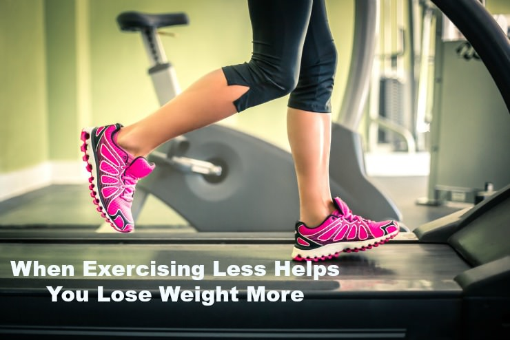 when exercising less is better