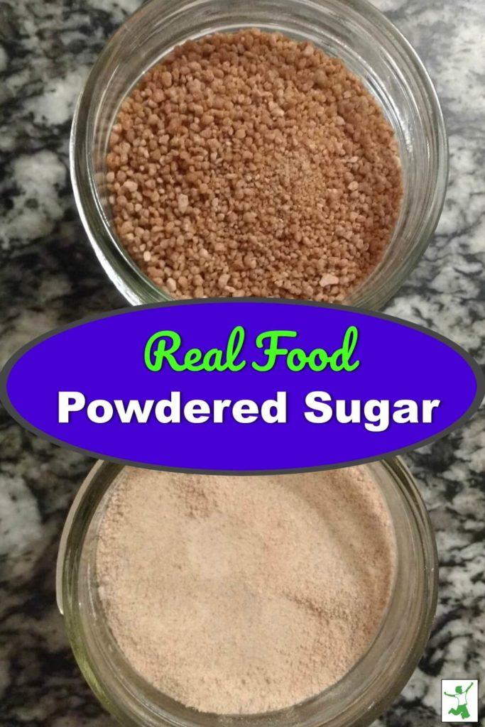 diy powdered sugar