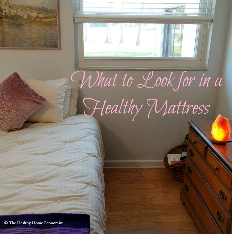 Why the Best Mattress for Healthy Sleep Is Not Organic | The Healthy Home Economist