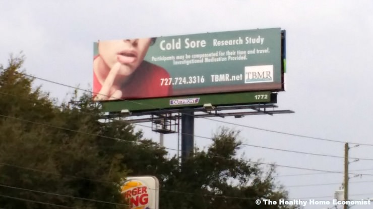 cold sores remedies instead of drugs