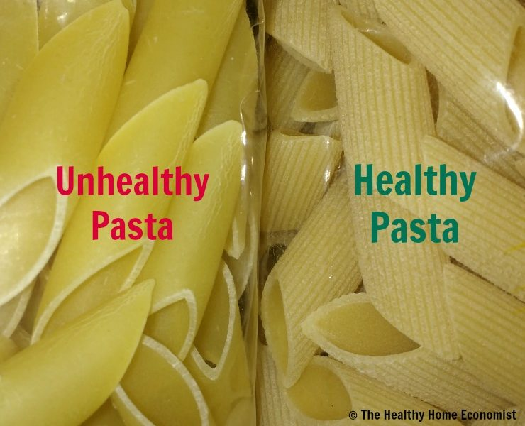 How to Find the Best Healthy Pasta (not shaped in Teflon!) 1