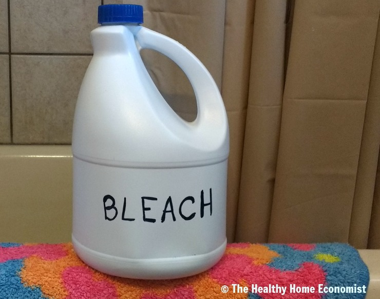 Bleach Bath Warning for Chronic Skin Infections - Healthy Home Economist