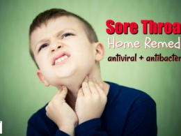 natural remedy for sore throats