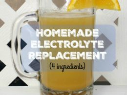 Homemade Electrolyte Replacement 1