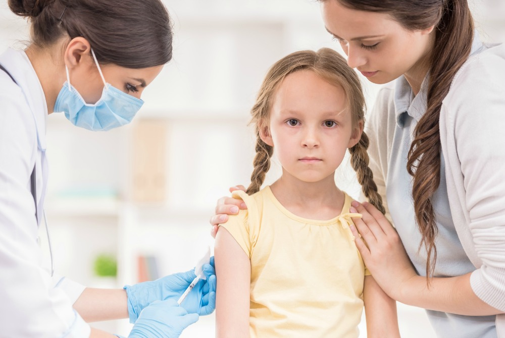 girl vaxed with gardasil