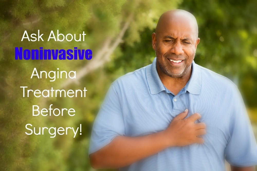 Noninvasive Treatment for Angina (why aren't cardiologists doing this?)