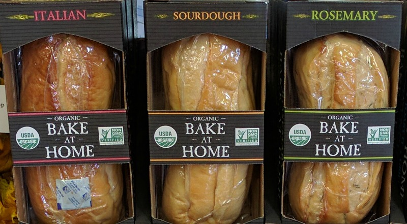 fake sourdough bread at the store