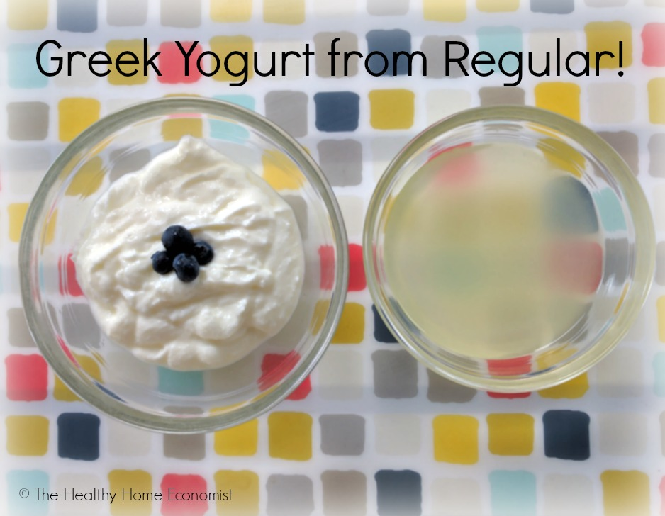 greek yogurt from regular