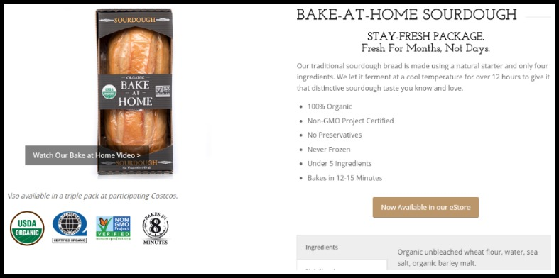 fake sourdough ingredients online