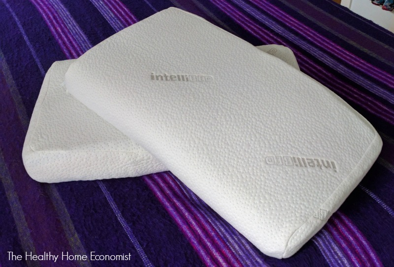 intellipillow on bed