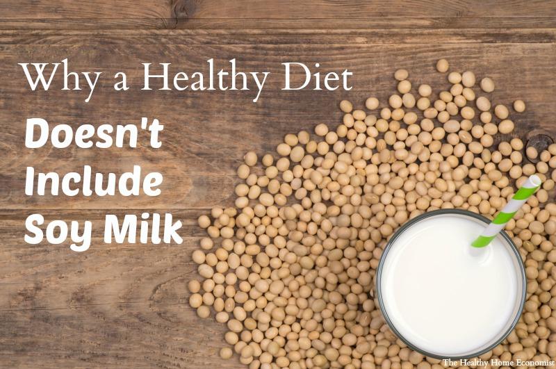 soy milk no benefits