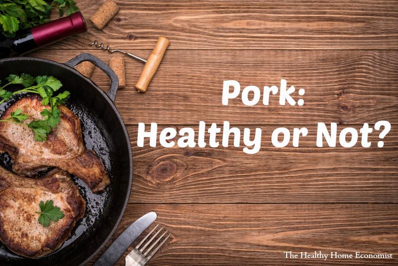 pork in a skillet