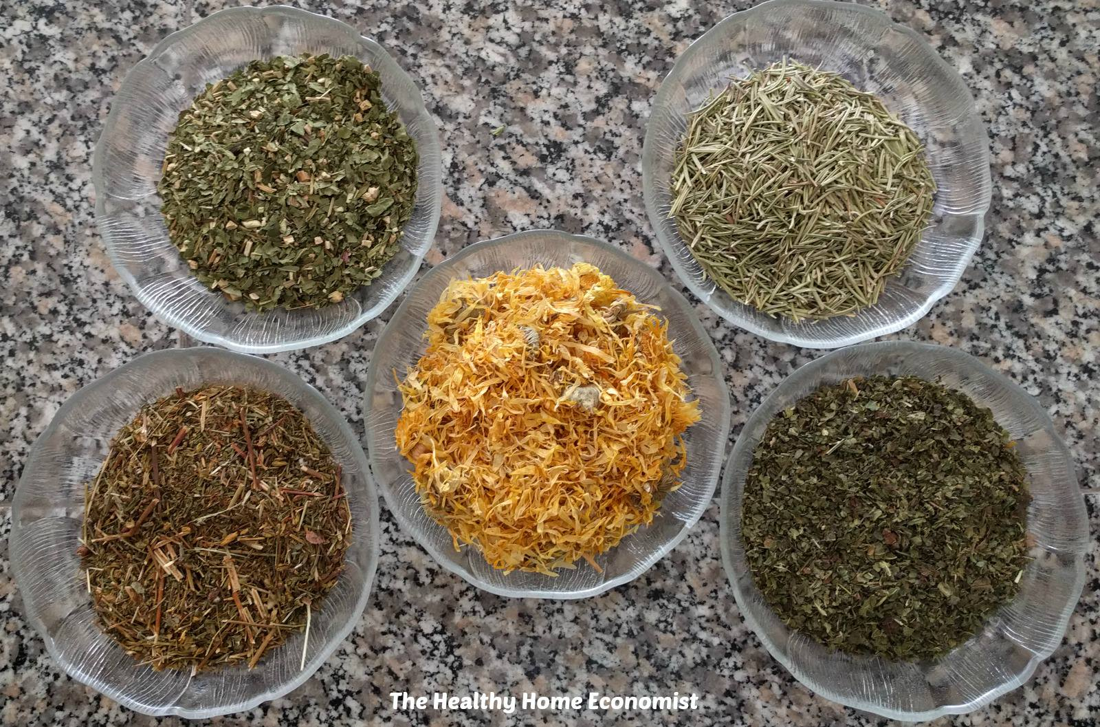 loose tea and bulk herbs