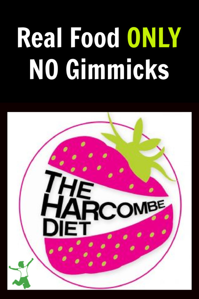 real food harcombe diet logo