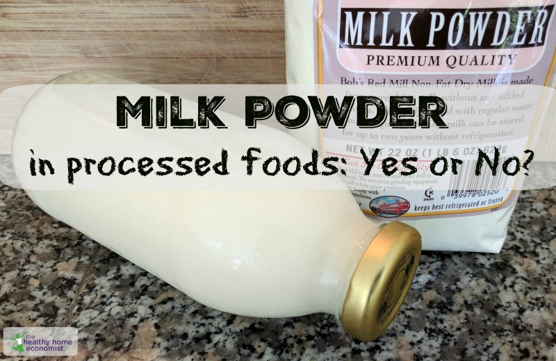 Milk powder, powdered milk