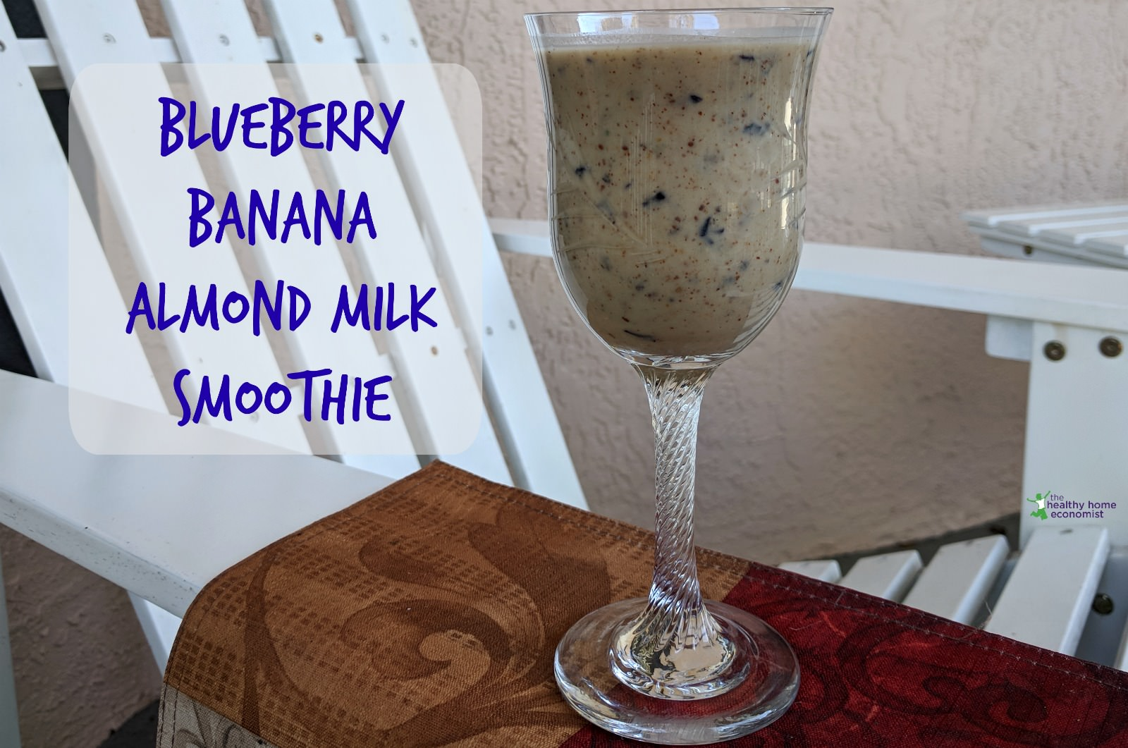 almond milk smoothie, banana flour recipes