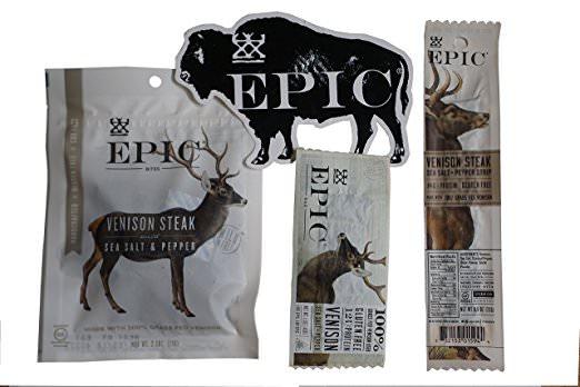 epic venison snacks