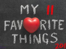 Sarah's 11 Favorite Things - 2017 1