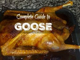 how to roast goose