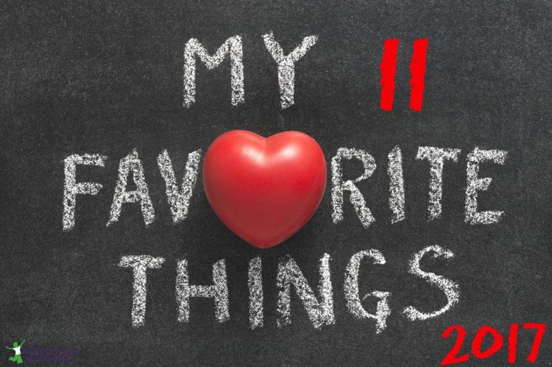 Sarah's 11 Favorite Things - 2017