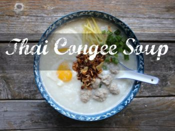 thai congee soup recipe