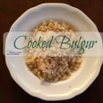 bulgur wheat cooking instructions