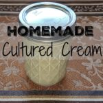 How to Make Probiotic Sour Cream or Crème Fraîche in One Step!