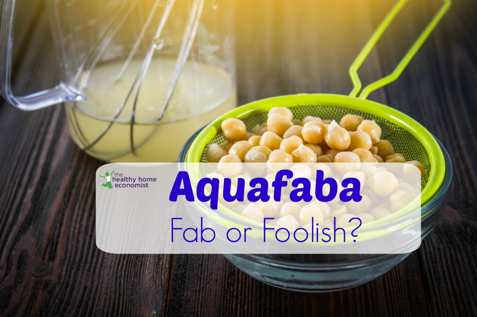 6 Reasons to Avoid AQUAFABA and Chickpea Water