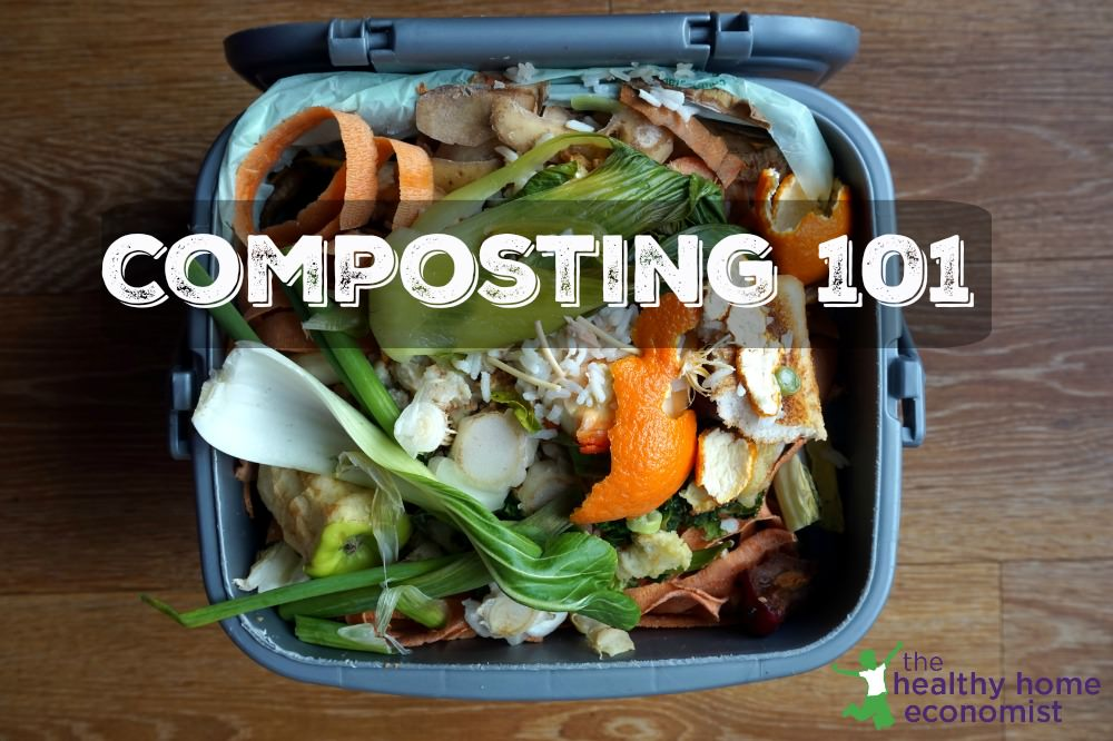 Composting 101: Everything You Need to Know (+ DIY compost bin)