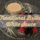 white sauce recipe, white sauce