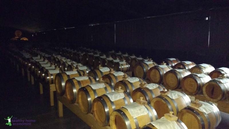 fermenting balsamic barrels