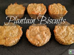 Plantain Biscuits Recipe (great for breakfast!) 4