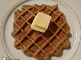 breakfast plantain waffles