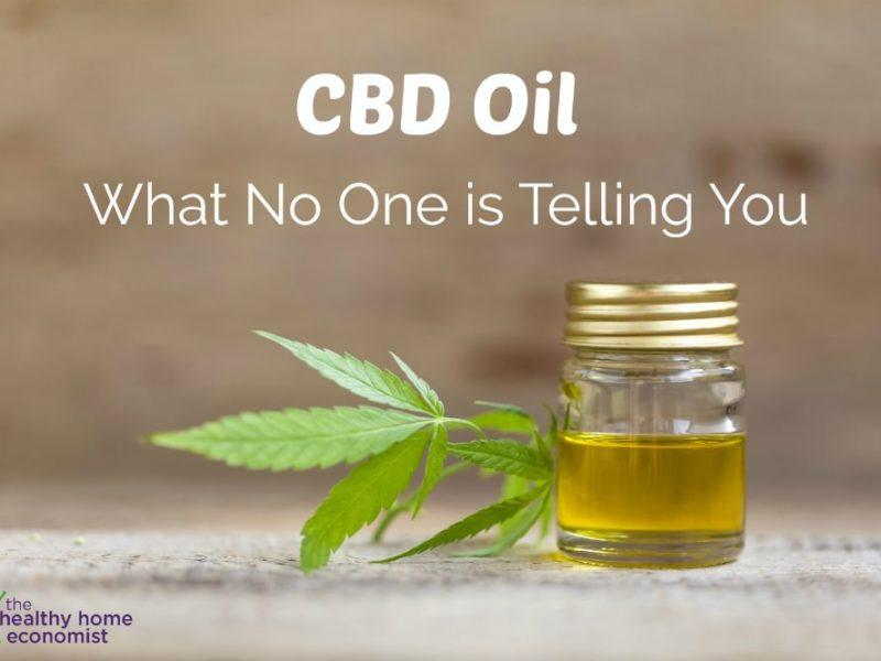 CBD oil dangers