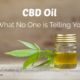 Is CBD Oil Harmful? What No One is Telling You