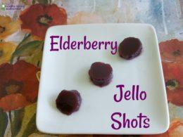 Elderberry Jello Shots