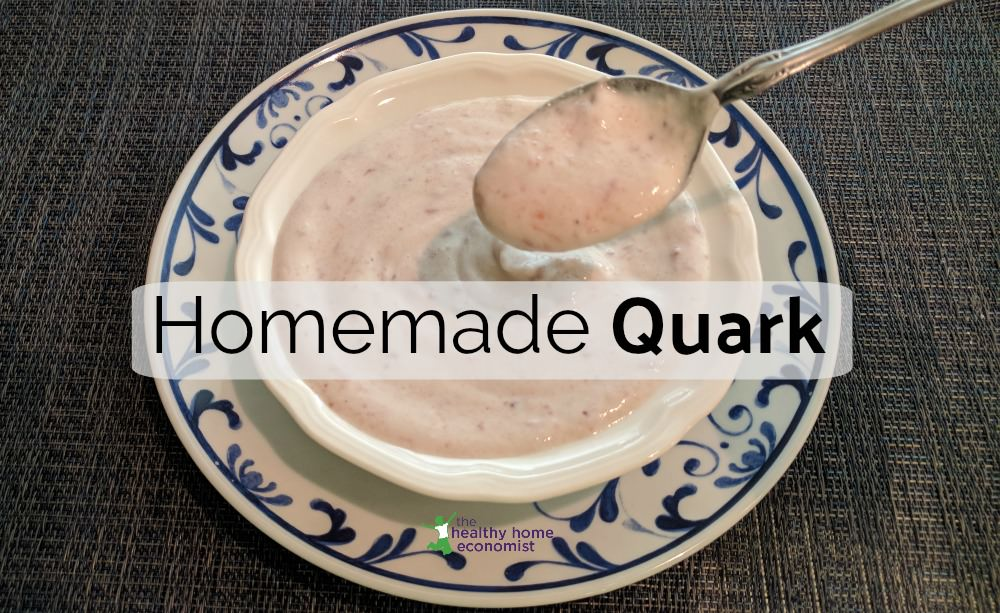 homemade quark recipe
