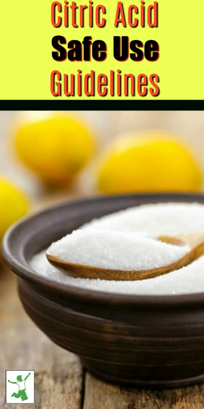 safe citric acid