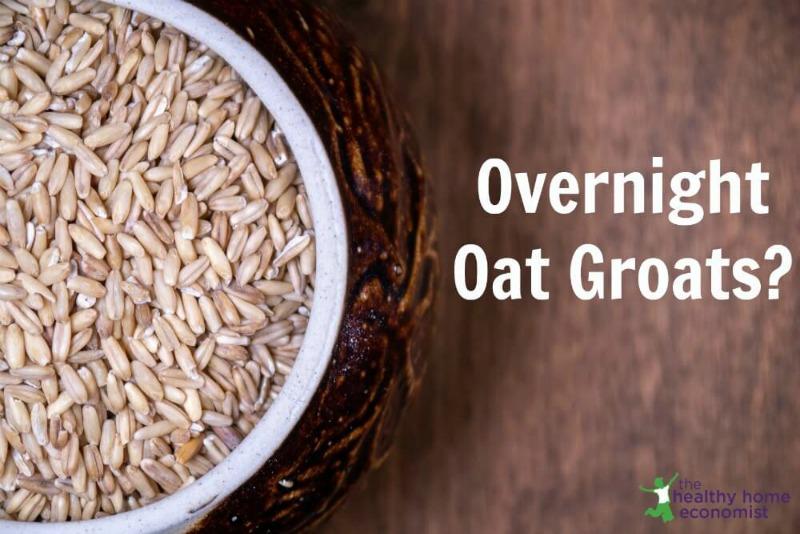 oat groats in a bowl