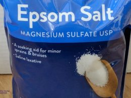 where to buy epsom salt