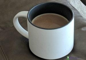homemade vanilla latte
