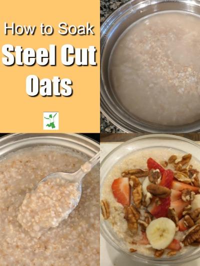 how to soak steel cut oats