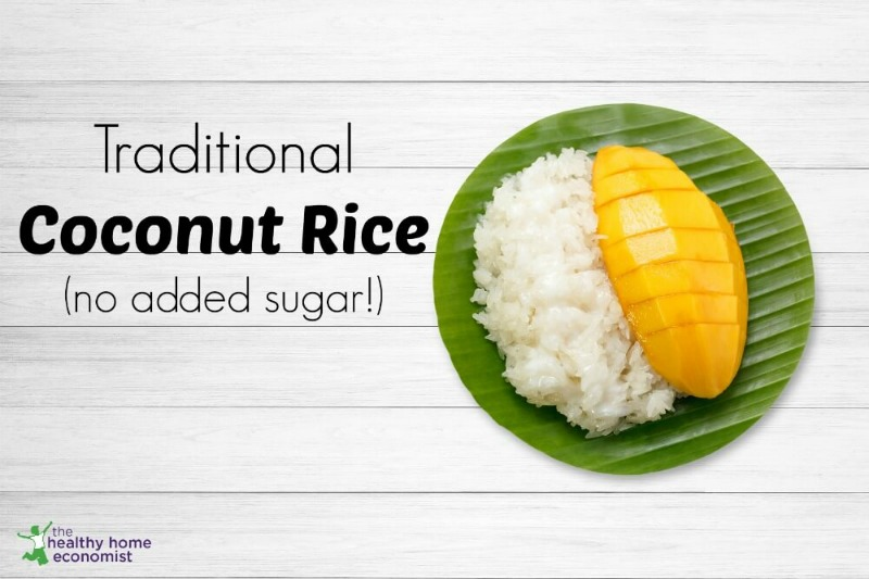 sugar free coconut rice