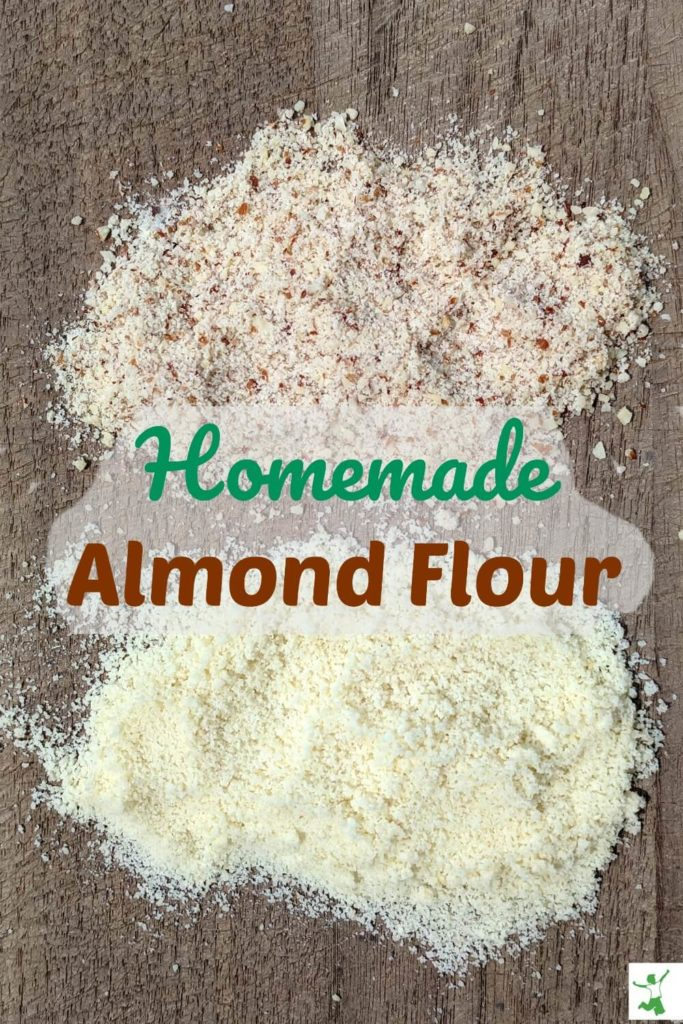 types of homemade almond flour