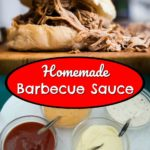 Homemade Barbecue Sauce (no sugar or MSG)