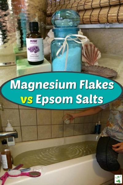 magnesium flakes baths
