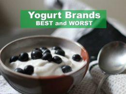 Yogurt Brands. Ranking the Best and Worst